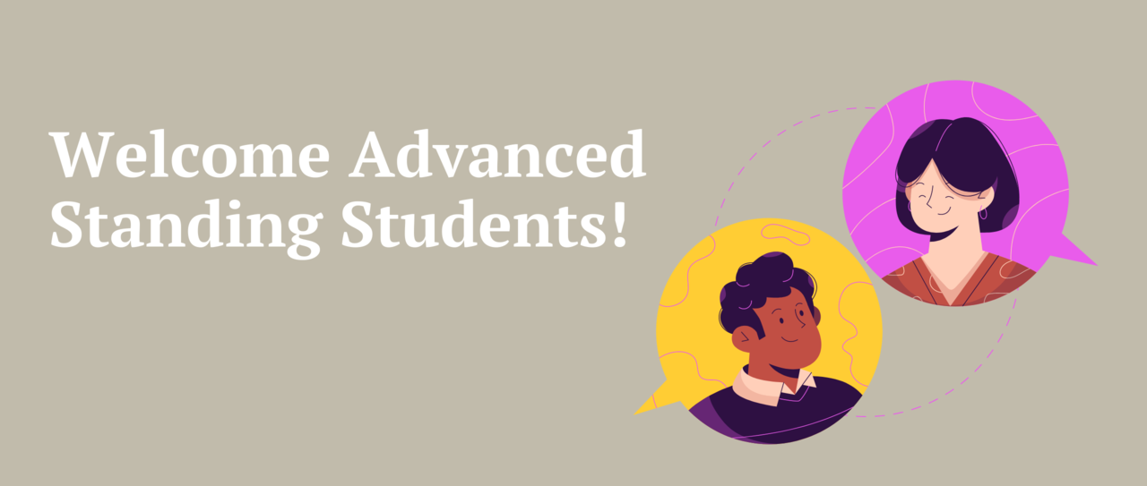 Welcome Advanced Standing Students